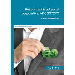 Responsabilidad social corporativa. ADGG072PO