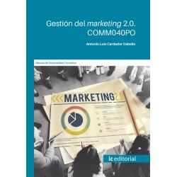 Gestión del marketing 2.0. COMM040PO
