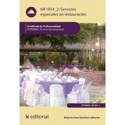 Servicios especiales en restauración MF1054_2 (2ª Ed.)