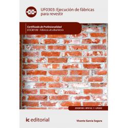 Ejecución de fábricas para revestir. EOCB0108