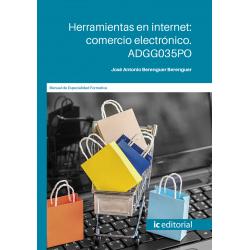Herramientas en internet: comercio electrónico. ADGG035PO