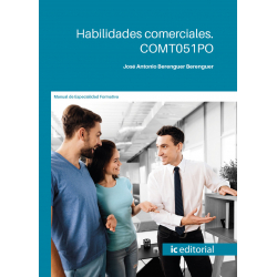 Habilidades comerciales. COMT051PO