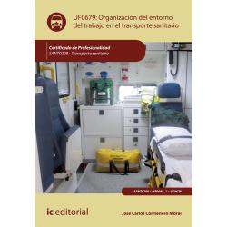 Organización del entorno de trabajo en transporte sanitario UF0679