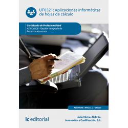 Aplicaciones informáticas de hojas de cálculo UF0321