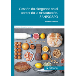 Gestión de alérgenos en el sector de la restauración. SANP038PO