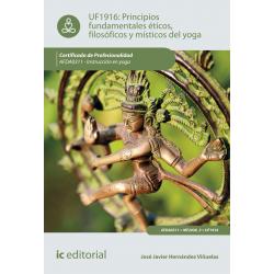 Principios fundamentales éticos, filosóficos y místicos en yoga UF1916
