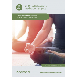 Relajación y meditación en yoga UF1918