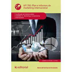 Plan e informes de marketing internacional UF1783 (2ª Ed.)