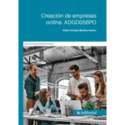 Creación de empresas online. ADGD056PO