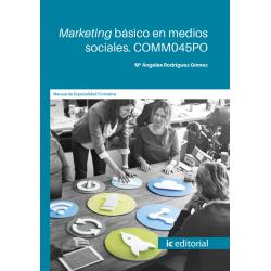 Marketing básico en medios sociales. COMM045PO