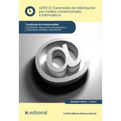 Transmisión de información por medios convencionales e informáticos