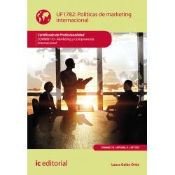 Políticas de marketing internacional UF1782 (2ª Ed.)
