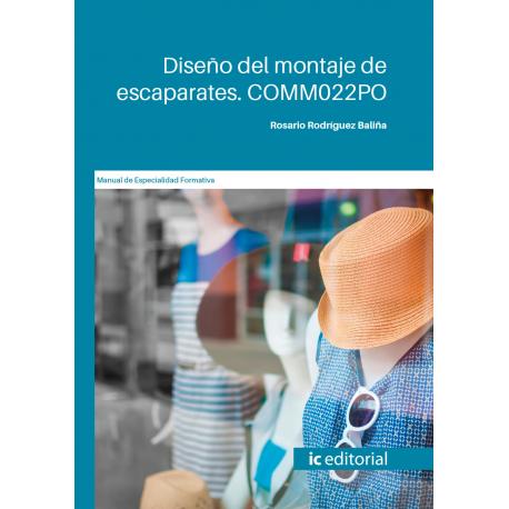 Diseño del montaje de escaparates. COMM022PO