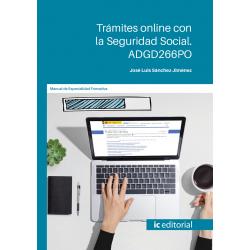 Trámites online con la Seguridad Social. ADGD266PO