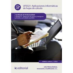 Aplicaciones informáticas de hojas de cálculo. ADGN0210
