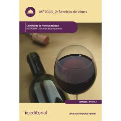 Servicio de vinos. HOTR0608 (((2018)))