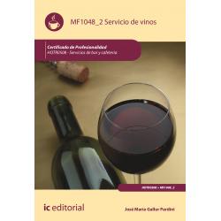 Servicio de vinos. HOTR0508 (((2018)))