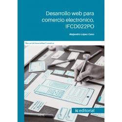 Desarrollo web para comercio electrónico. IFCD022PO