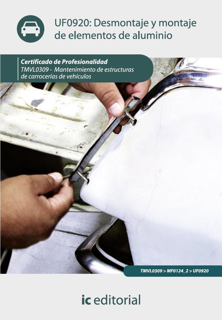 Desmontaje y montaje de elementos de aluminio. TMVL0309