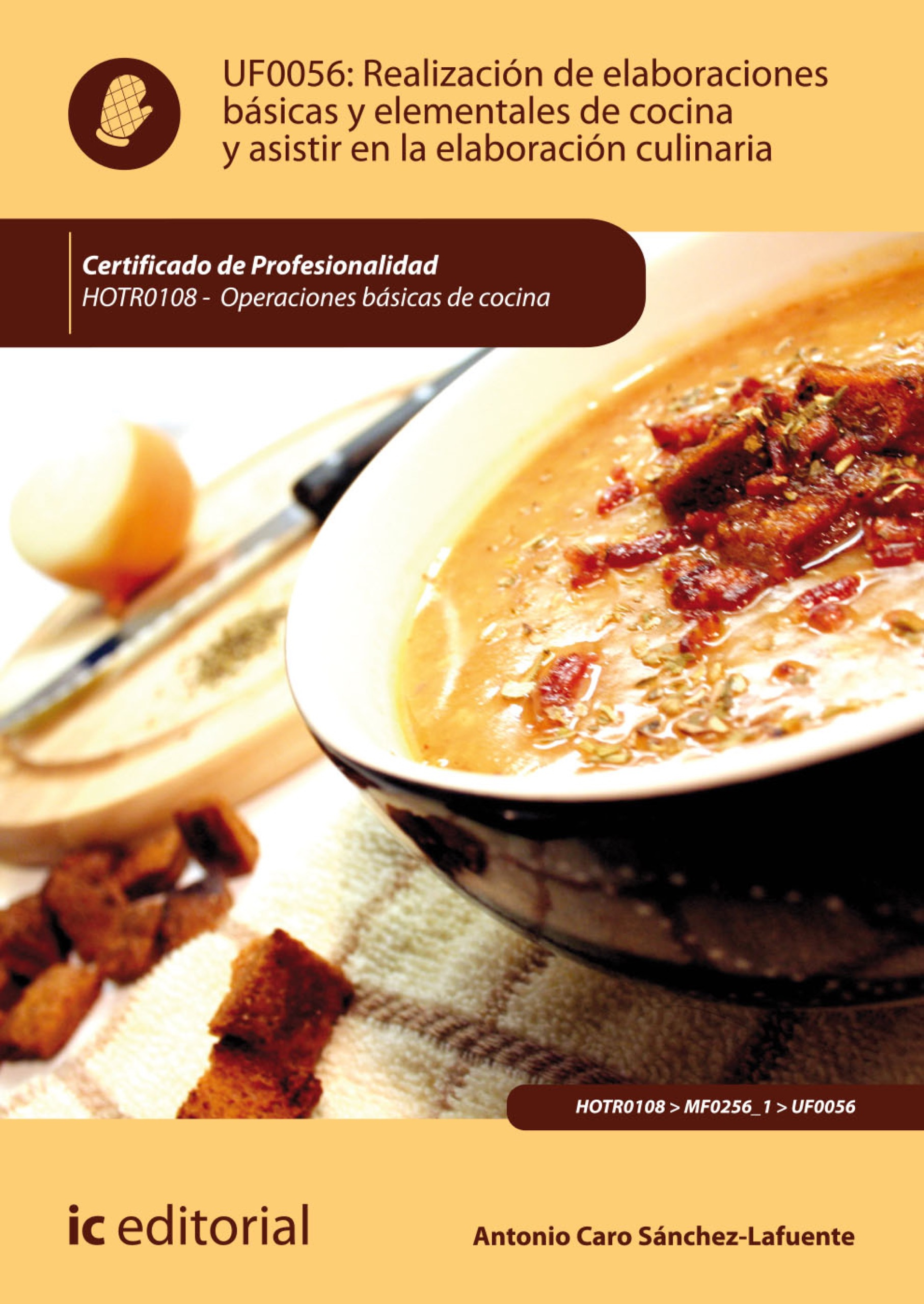 Realización de elaboraciones básicas y elementales de cocina y asistir en la elaboración culinaria. HOTR0108