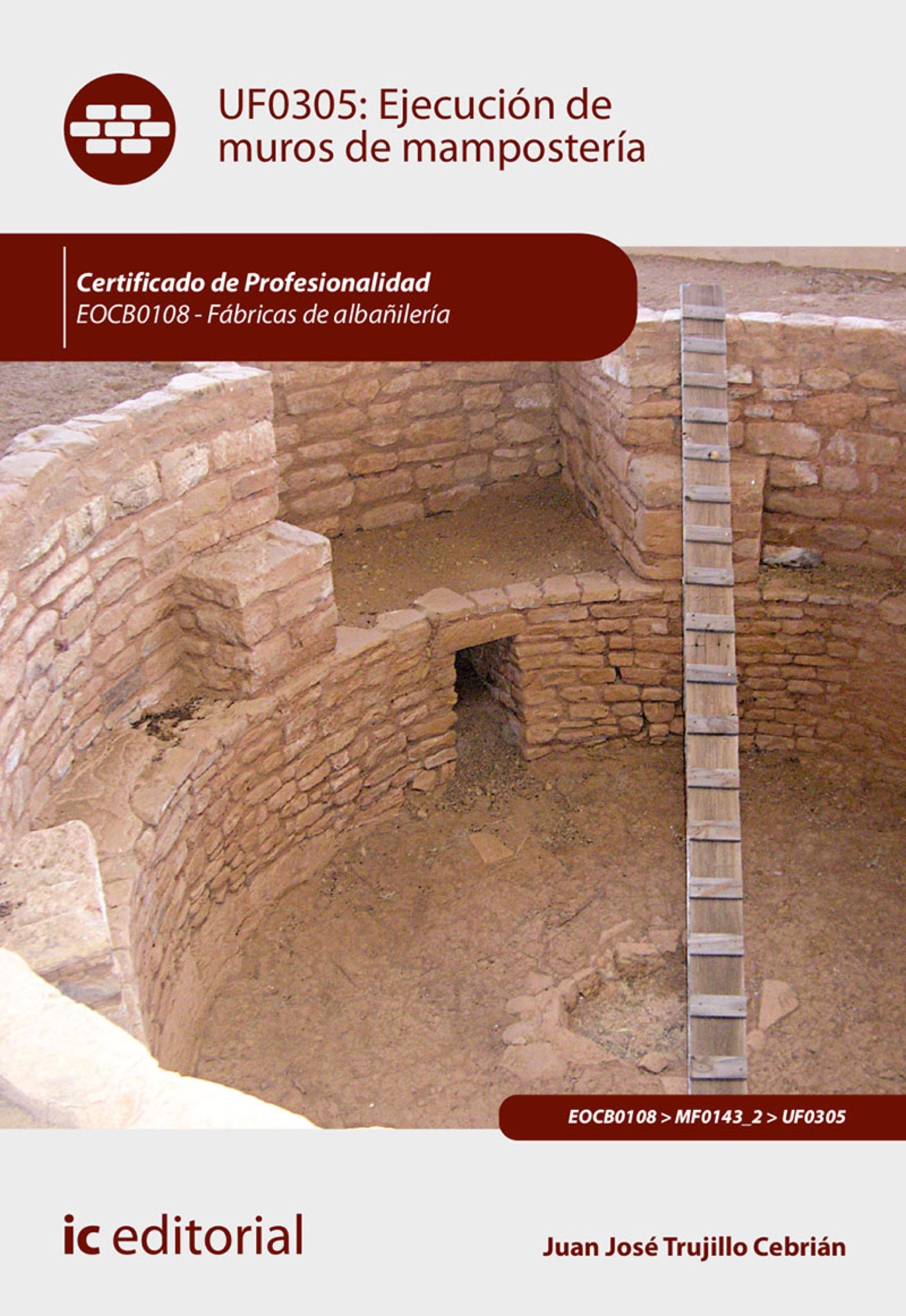 Ejecución de muros de mampostería. EOCB0108